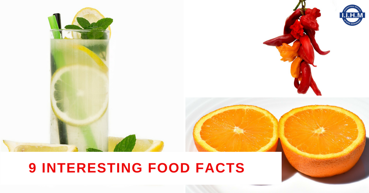 9 Interesting Food Facts