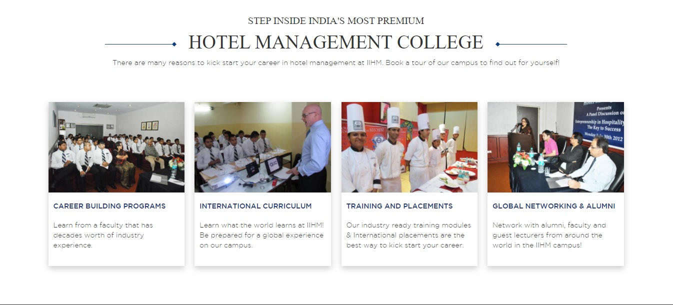 Reasons to start career in hotel management at IIHM